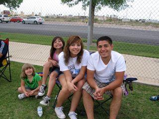 Ruben, Isa, my niece, and Ruben's friend