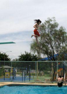 jonathan on the high dive