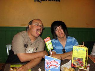 Dad and Nathan