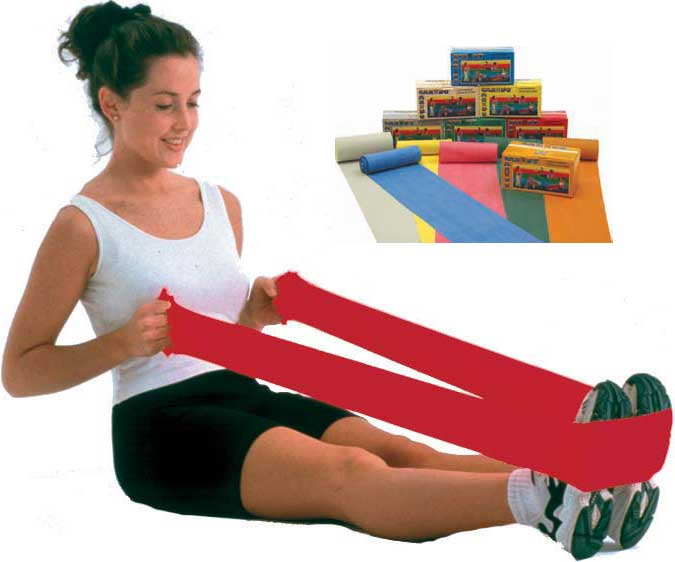 Cando-low-powder-exercise-resistance-bands
